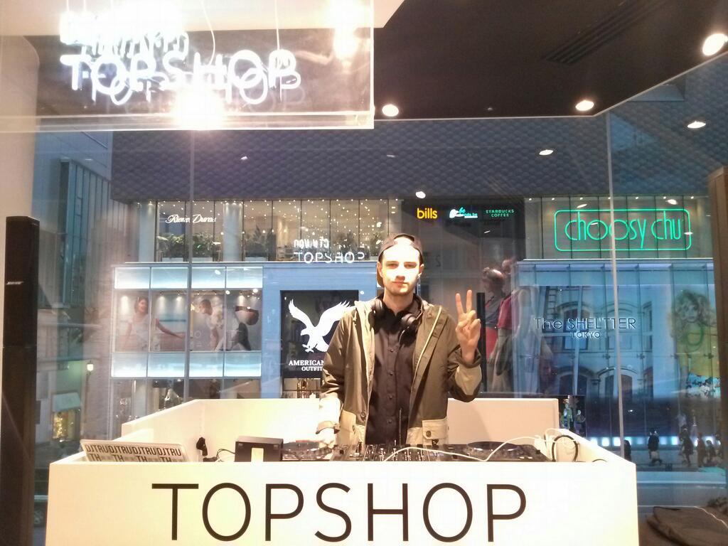 DJ TRUTH TOPSHOP TOKYO